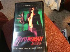 ZERO WOMAN  RETURNS   VHS
