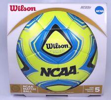 d83e06850c Wilson Oficial de la NCAA Match pelota de fútbol Talla 5 Neuvo Balon De Futbol  Tamaño 5
