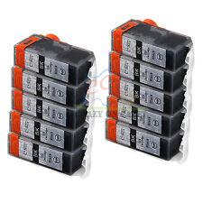10 Ink Cartridge PGI525 for Canon MG5250 MG5350 MG6150 MG6250 MX885 MX715 Black