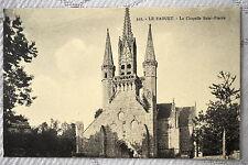 """CPA """" LE FAOUET - La Chapelle Saint Fiacre"""