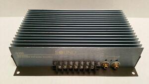 Vintage Soundstream D200 100W Dual Mono Car Amplifier Audio Hi-Fi USA HTF