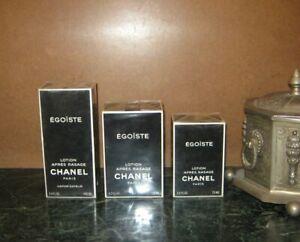 *CHOOSE SIZE: Chanel Egoiste Pour Homme AFTERSHAVE 50-100 ml 1.7-3.4 oz VINTAGE*