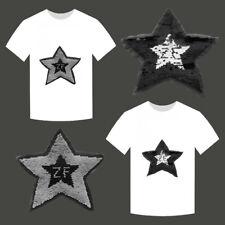 Parches Estrella dibujos animados remiendo DIY camiseta Ropa apliques bordado