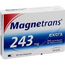 MAGNETRANS EXTRA 243MG Kapseln 20St STADA 4192999