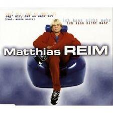 Matthias Reim Sag' mir, daß es wahr ist (1998; 2 tracks, feat. Annie.. [Maxi-CD]