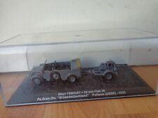ATLAS DEAGOSTINI 1/72 STEYR 1500A/01 + 20MM FLAK 38 USSR 1943 WW2 DIECAST TANK