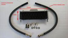 6 Fila Refrigerador De Aceite Rad Radiador Pit Bike Quad CRF50 CRF70 YX Lifan 50CC 125CC 150