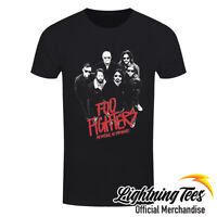 Official Foo Fighters Medicine At Midnight Photo Dave Grohl Rock T-Shirt