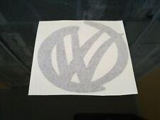 VW car/bumper/window sticker - black
