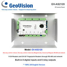 GeoVision GV-AS2120 4 Door Access Control Panel/8 Digital Input + 8 Relay Output