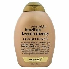 5 Pack Organix Ever Straight Brazilian Keratin Therapy Conditioner 13 Oz Each