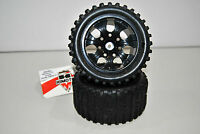 08010NBL Paire Roues Complet Black Off-Road 1/10 Himoto Hexagone Interne 12mm
