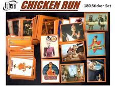 Futera CHICKEN RUN Complete Full 180 STICKER CARD SET Panini Topps Merlin Disney