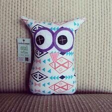 ❤️Owl Softies ❤️18cm Owls | Pink White Aqua Aztec | Baby | Girls | Gifts
