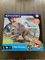 Discovery T-Rex Dinosaur 5 Piece Collection Toy with Sounds New in Box Kids