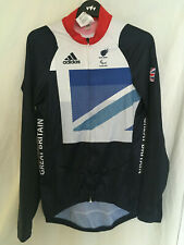 NEW (other) Adidas Team GB Olympics (paralympic) cycling bike jersey London 2012