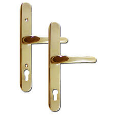 Yale Retro Adjustable 92mm Centres UPVC Lever Door Handles Furniture Gold