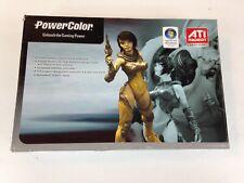 Powercolor Radeon X1550 512MB GDDR2 PCI-E 64-BIT DVI/CRT/TV NEW OPEN BOX