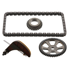 Oil Pump Chain Kit Fits Volkswagen Crosspolo Fox Polo 60 Skoda Fabia Febi 49090