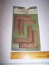 1970 Original Furniture Decorative TRIM Molding Parts Pieces - Corner - #25