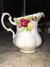 1962 Royal Albert LTD Old Country Roses Creamer -Bone China - New W/ Tags