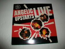 ANGELIC UPSTARTS - LP - LIVE - PUNK Oi! KBD - WITH FLEXI - DISC