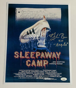 FELISSA ROSE Sleepaway Camp SIGNED 11x14 Photo EXACT PROOF JSA COA Horror B