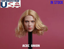 1/6 Scarlett Johansson Black Widow 7.0 Head Sculpt B For Hot Toys Phicen U.S.A.