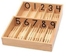Numbered spindle boxes with 46 spindles