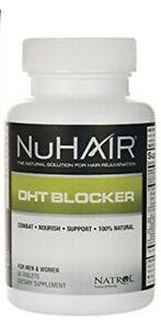 60 tabs DHT BLOCKER Hair Rejuvenation  Men Women Natrol  Nu Hair