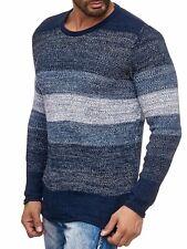 Carisma Strick Pullover Pulli Knit-Jumper Herren Freizeit Navy Blau CRSM 7389 XL