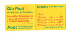 GERMANY DEUTSCHE BUNDESPOST 1974 ACCIDENT PREVENTION 2DM BOOKLET SB69 MINT