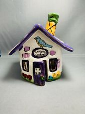 Clayworks Heather Goldminc Collectable Ceramics Grandmas Cottage Signed 2001