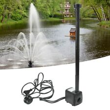 Pond Water Pump Fish Tank Electric Submersible Aquarium Fountain Hydroponic 8W