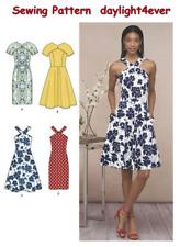 Women Summer Dress Sewing Pattern 8594 Simplicity New Size 6-14 #u
