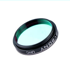 """Optical 1.25"""" Filter UHC Light Pollution Reduction Filter for Telescope Metal"""