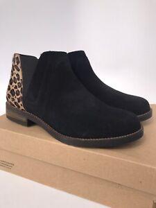 Clarks Demi Beat Leopard Print Bootie Size 8M NEW