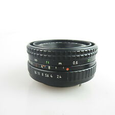 Für Praktica B PB Pentacon Prakticar 2.4/50 Pancake Objektiv / lens
