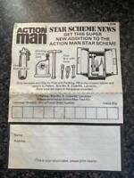 VINTAGE 1970's PALITOY ACTION MAN STAR SCHEME NEWS LEAFLET L574 VGC FOR AGE