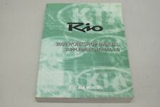 KIA RIO SUPPLEMENT D4FA DSL 1.5 2006 ENG Werkstatthandbuch A1GS-EG55B