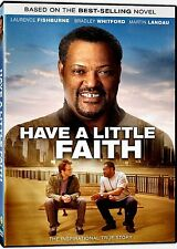 NEW DVD// HAVE A LITTLE FAITH - Laurence Fishburne, Martin Landau