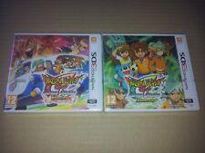 Lot Nintendo 3Ds Inazuma Eleven Go Chrono Stones Brasier + Tonnerre  VF Neuf