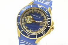 Technomarine Tm-118013 Cruise Automatic Blue Dial Silicone Strap Men's Watch