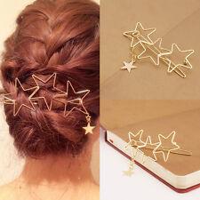 Damen Mode Höhle Stern Troddel Hairpin Hairpin Haarspangen Haar Accessoires ,`^-