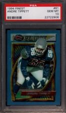 1994 FINEST # 81 ANDRE TIPPETT ☆LOW POP☆ NEW ENGLAND PATRIOTS PSA 10 GEM-MINT