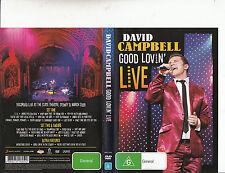 David Campbell:Good Lovin Live-State Thearter Sydney 2009-Music-DVD