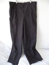 NWOT GORE TEX OUTERWEAR Waterproof Breathable Black Pants Size XL