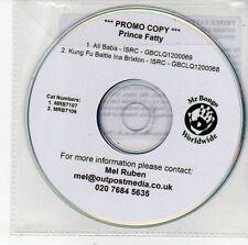 (DV488) Prince Fatty, Ali Baba / Kung Fu Battle Ina Brixton - DJ CD