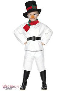 CHRISTMAS FANCY DRESS # CHILD SNOWMAN MED AGE 6-7-8