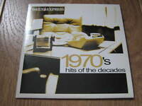 VARIOUS - 1970'S HITS OF THE DECADES - DAILY EXPRESS PROMO CD ALBUM EXCELLENT